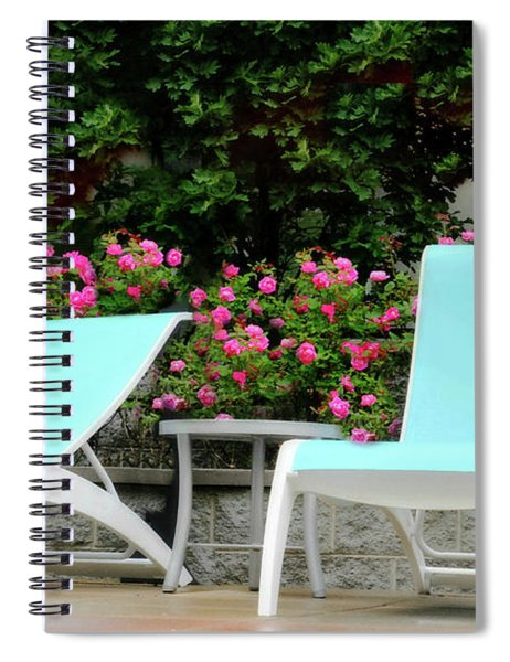 Lounging Spiral Notebook