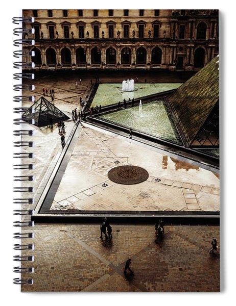 Louvre Spiral Notebook