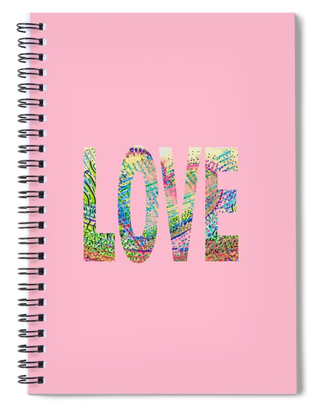 Love 1001 Spiral Notebook