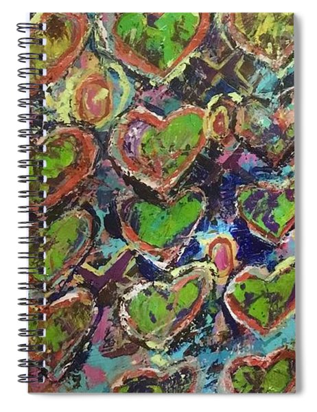 Love And Money Spiral Notebook