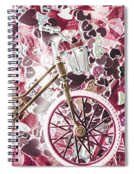 Love Courier Spiral Notebook