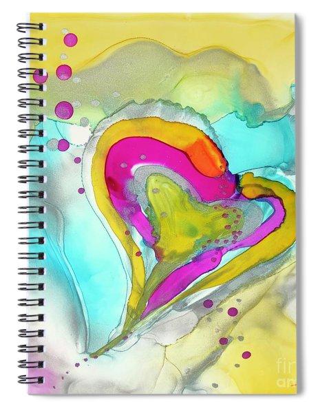 Love Floats Spiral Notebook