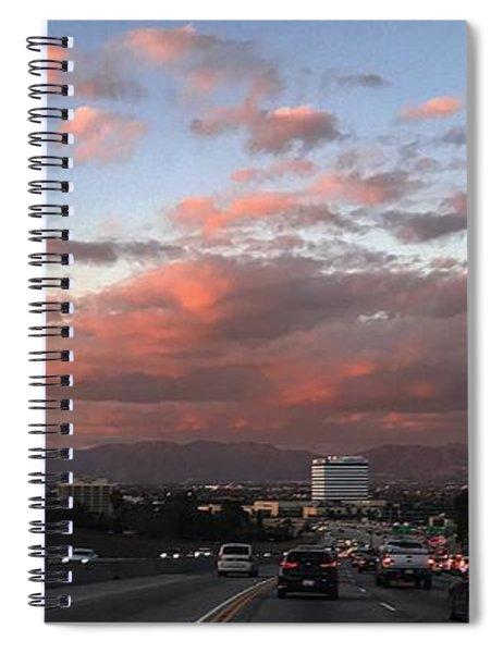 Love Hate In Los Angeles Spiral Notebook