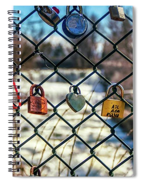 Love Locks Spiral Notebook
