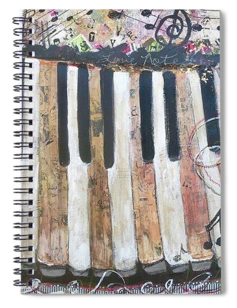 Love Notes Spiral Notebook