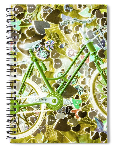 Love Of The Chase Spiral Notebook