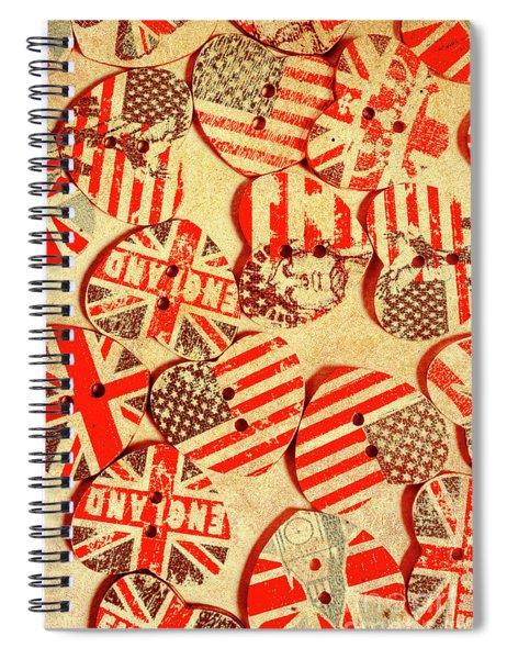 Love Of The Heartland Spiral Notebook
