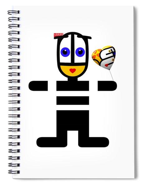 Love Ubabe Spiral Notebook