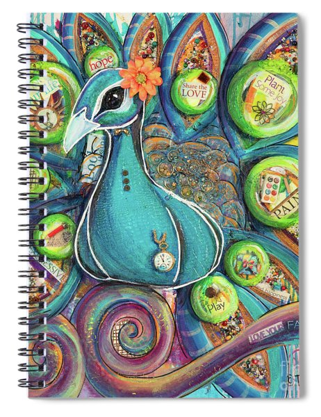 Love Your Fabulous Self V2 Spiral Notebook
