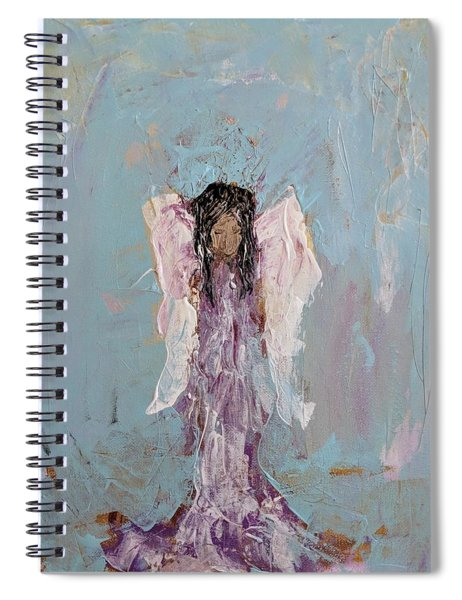 Lovely Angel  Spiral Notebook