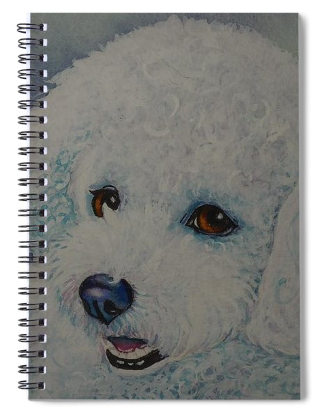 Lovely Lacy Spiral Notebook