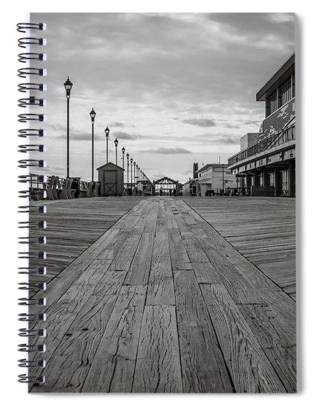 Low On The Boardwalk Spiral Notebook