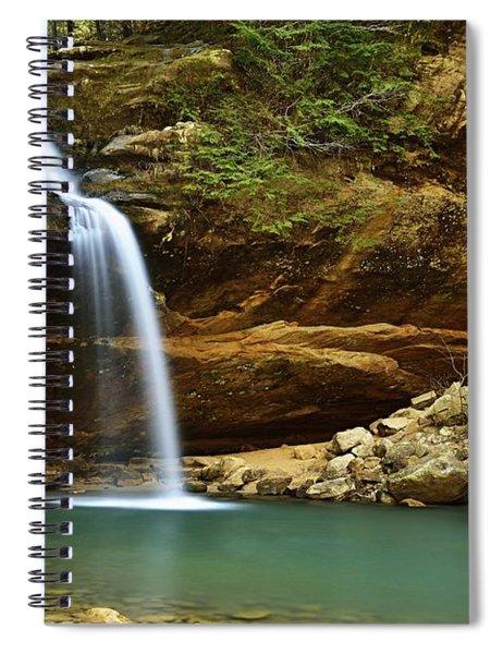 Lower Falls Spiral Notebook