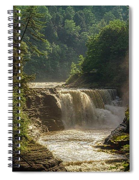 Lower Falls Letchworth State Park Spiral Notebook