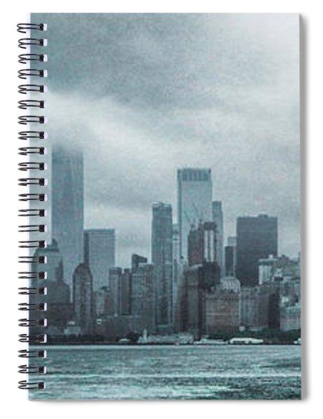 Lower Manhattan Panorama Spiral Notebook