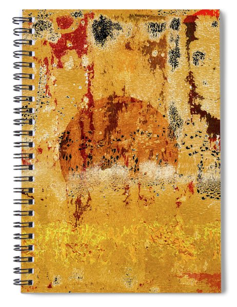 Lowering Sun Spiral Notebook