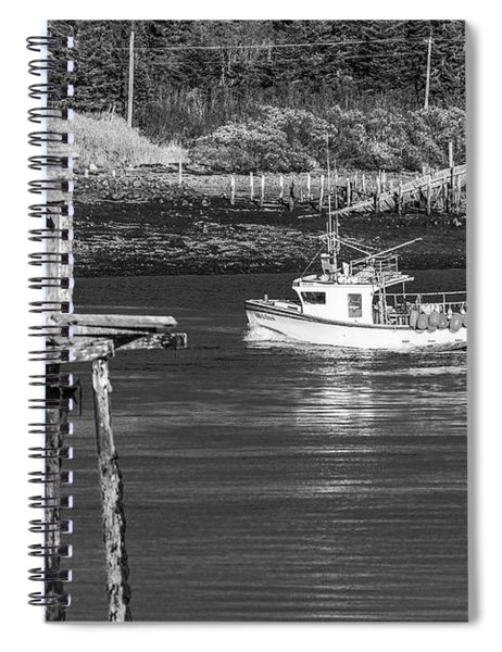 Lube Narrows Spiral Notebook