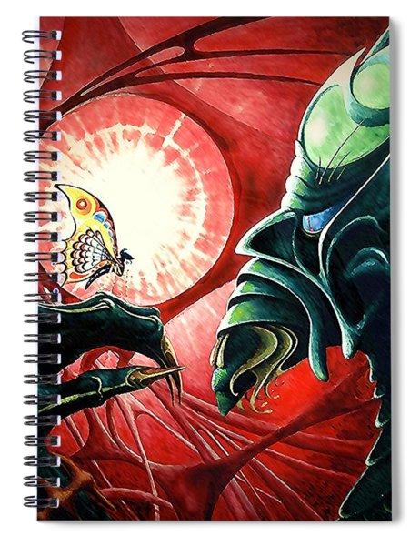 Lucifer  Trapped Spiral Notebook