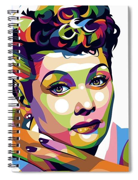 Lucille Ball Spiral Notebook