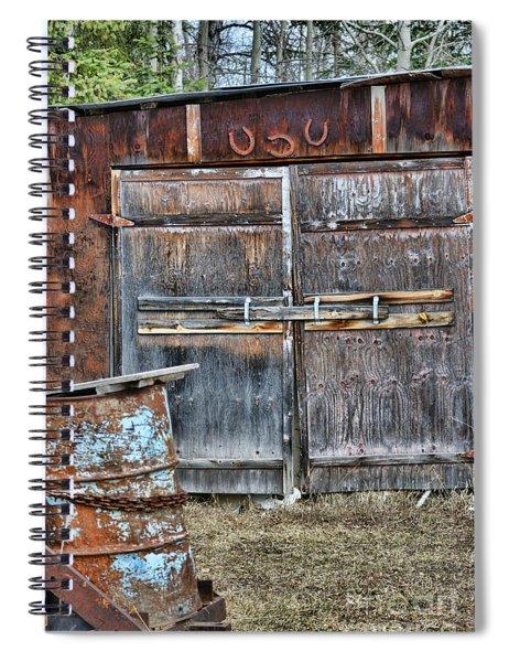 Lucky Door Spiral Notebook