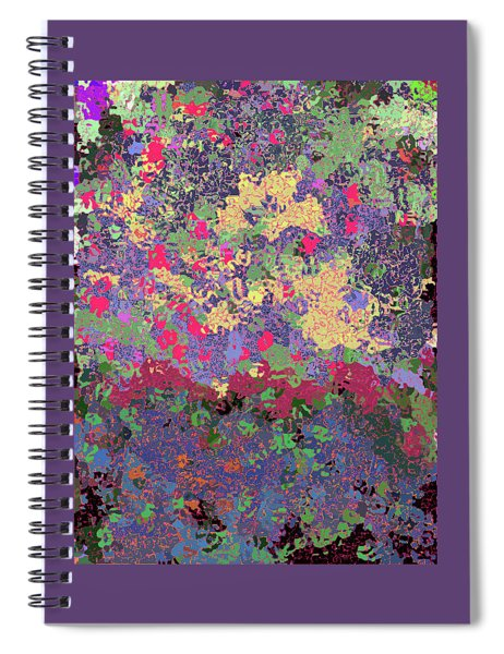 Luka Abstract 1010 Spiral Notebook