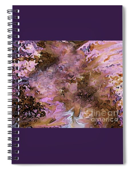 Luka Abstract 212 Spiral Notebook