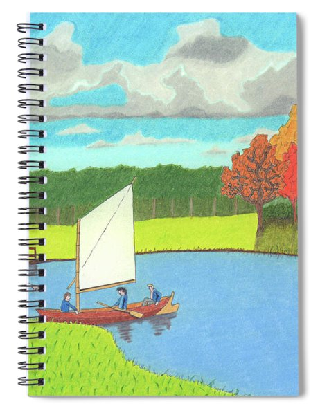Testing The Waters Spiral Notebook