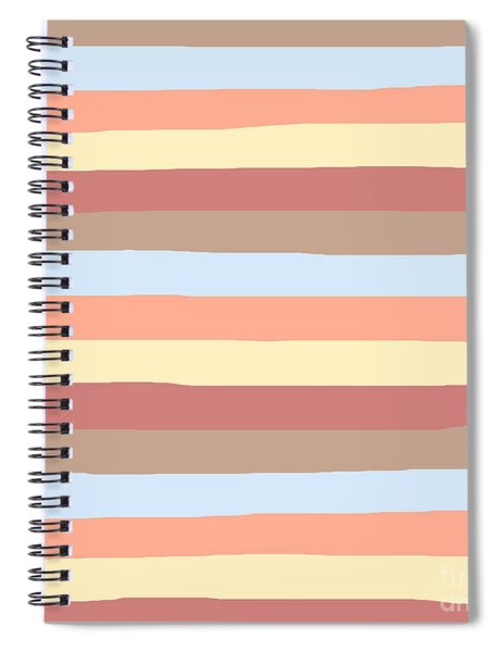 lumpy or bumpy lines abstract - QAB281 Spiral Notebook
