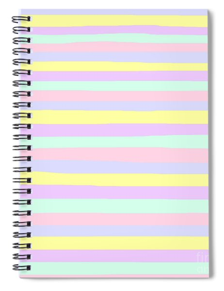 lumpy or bumpy lines abstract - QAB283 Spiral Notebook