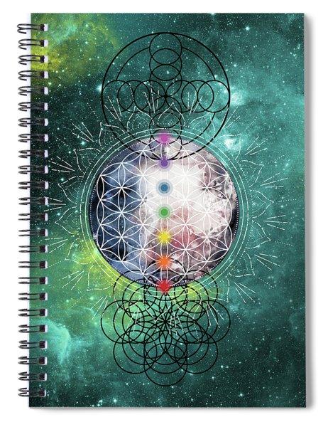 Lunar Mysteries Spiral Notebook
