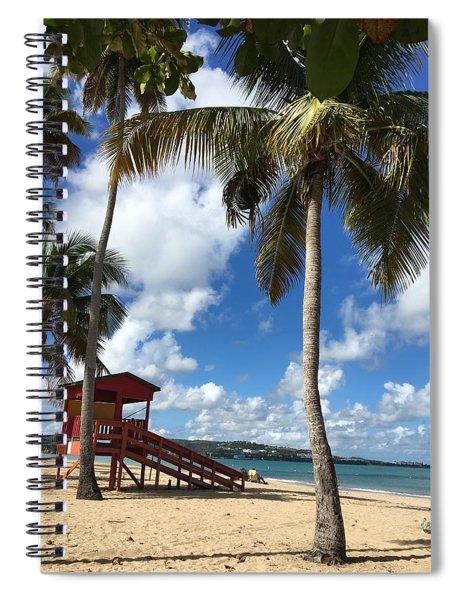 Luquillo Beach Spiral Notebook