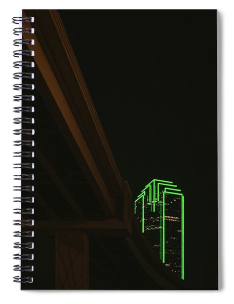 Lux Noir Spiral Notebook