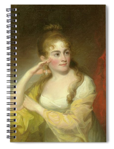 Portrait Of Lydia Leaming, 1806 Spiral Notebook