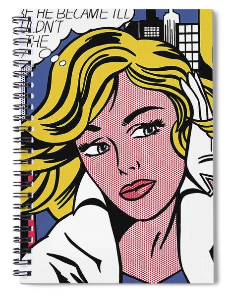 M-maybe  Spiral Notebook