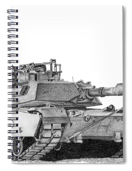 M1a1 Battalion Commander Tank Spiral Notebook