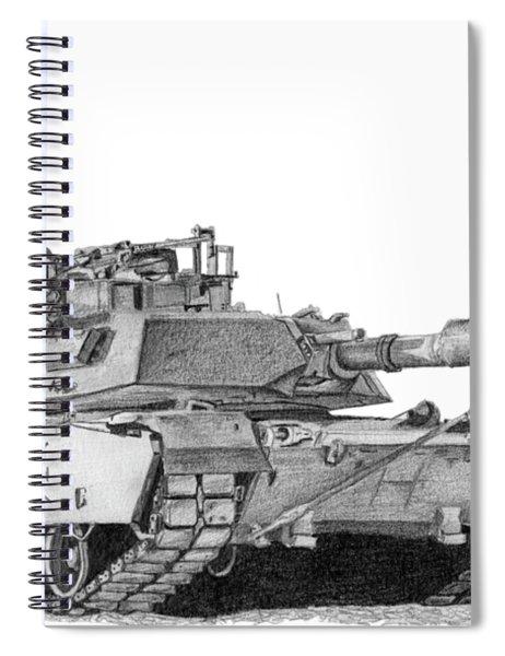 M1a1 D Company 1st Platoon Commander Spiral Notebook
