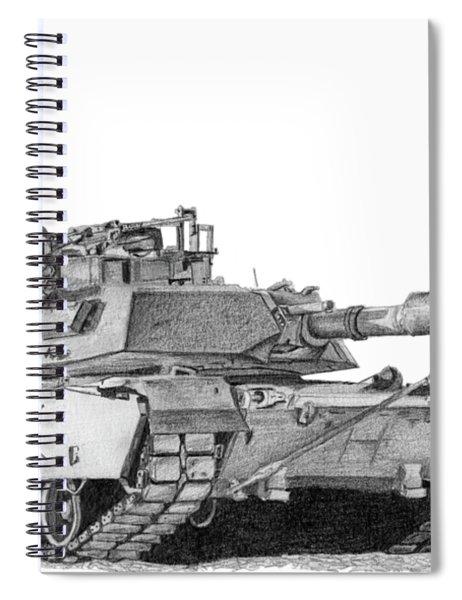 M1a1 D Company Commander Tank Spiral Notebook