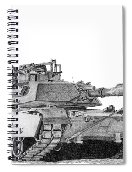 M1a1 D Company Xo Tank Spiral Notebook