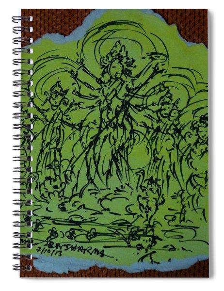 Ma Durga-2 Spiral Notebook