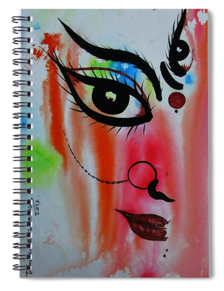 Ma Durga-5 Spiral Notebook