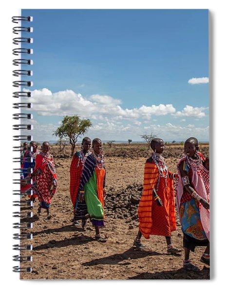 Maasi Women Spiral Notebook
