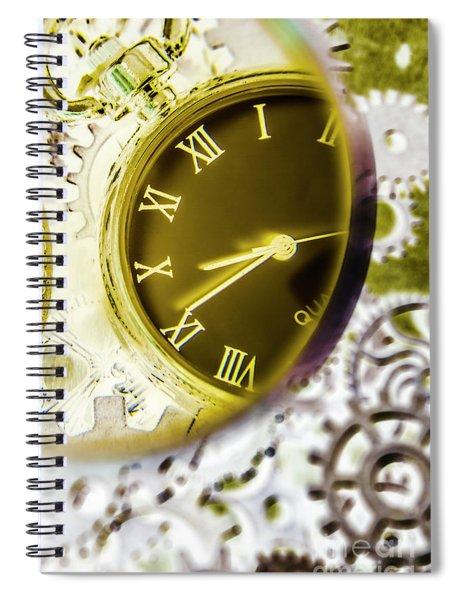 Machine Watch Spiral Notebook