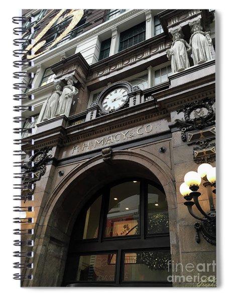 Macys Herald Square Nyc Spiral Notebook