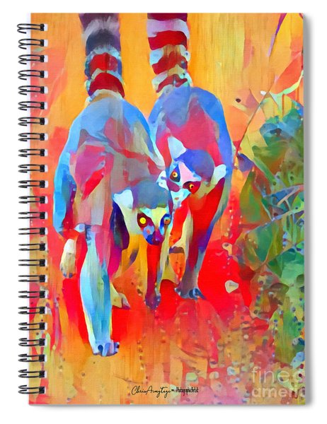 Madagascar Dreaming Spiral Notebook