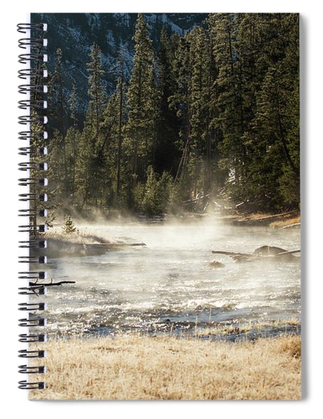 Madison River Morning Spiral Notebook