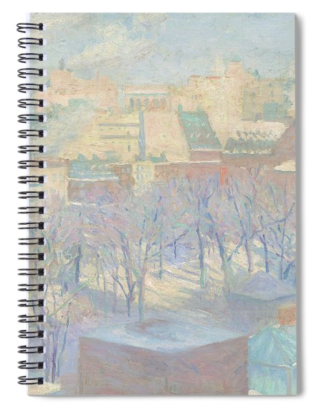 Madison Square, Snow, 1904  Spiral Notebook