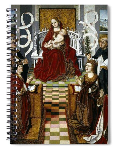Maestro De La Virgen De Los Reyes Catolicos / 'the Virgin Of The Catholic Kings', 1491-1493. Spiral Notebook