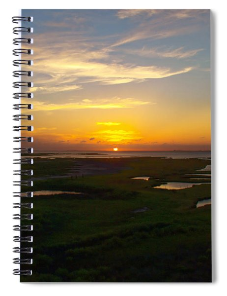 Maggies Cove Sunset Spiral Notebook