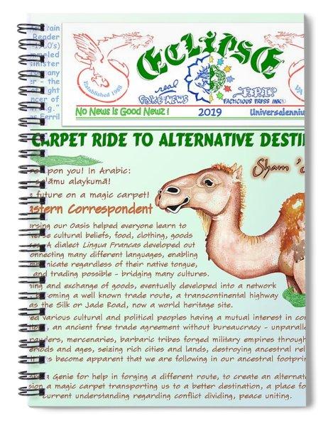 Magic Carpet Ride Spiral Notebook
