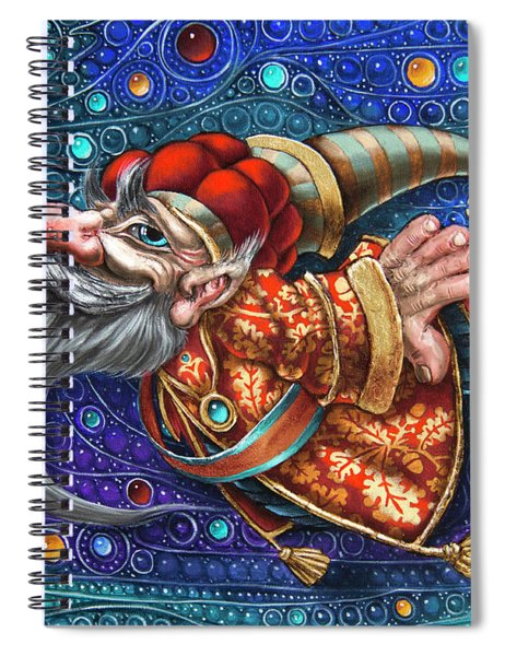 Magic Flight#1 Spiral Notebook